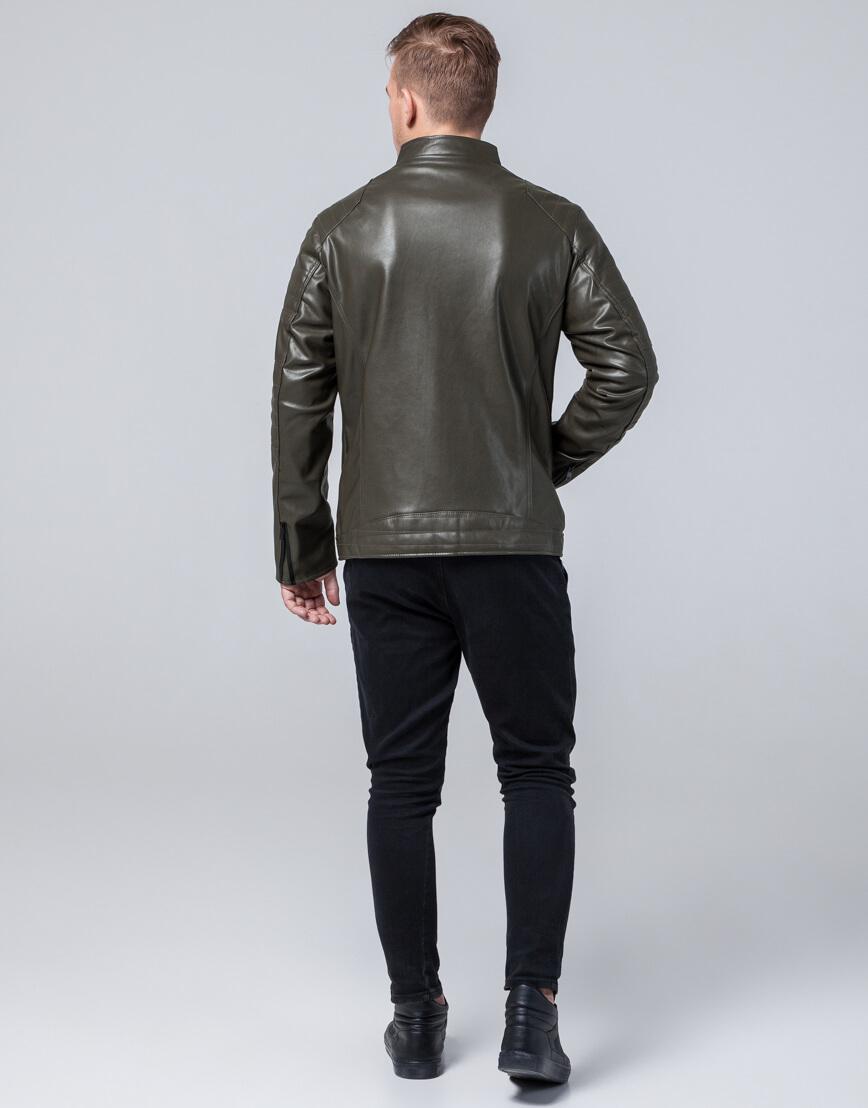 Высококачественная куртка осенне-весенняя цвета хаки модель 4327