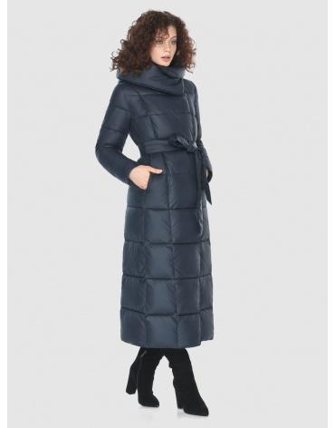 Женская синяя стильная куртка Moc M6321 фото 1