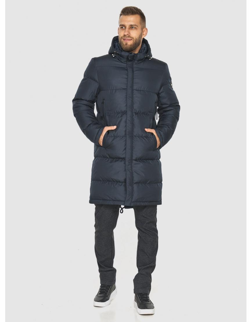 Модная куртка мужская Tiger Force тёмно-синяя 2873 фото 1