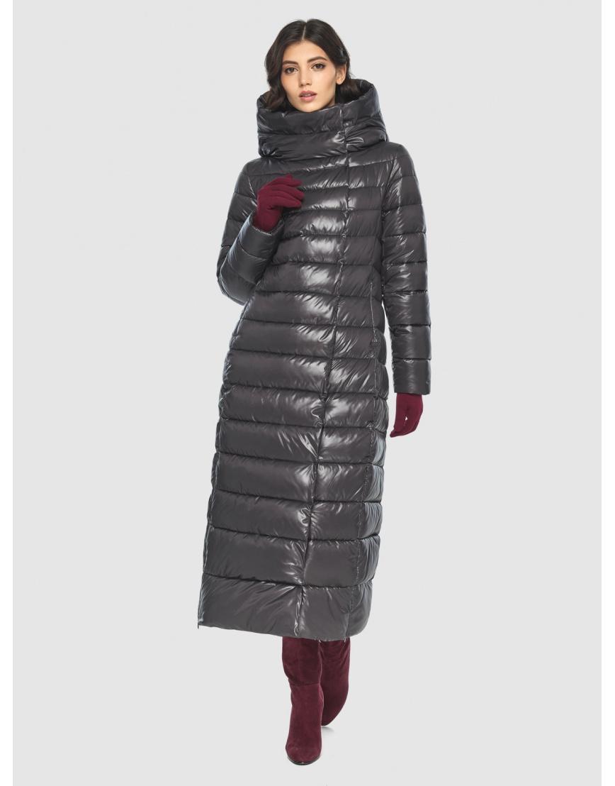 Куртка элегантная женская Vivacana серая 8320/21 фото 2