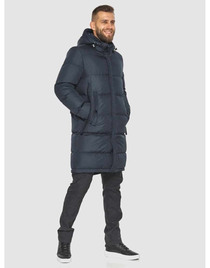 Модная куртка мужская Tiger Force тёмно-синяя 2873 фото 6
