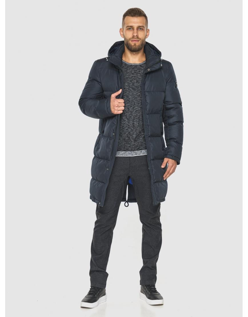 Модная куртка мужская Tiger Force тёмно-синяя 2873 фото 3