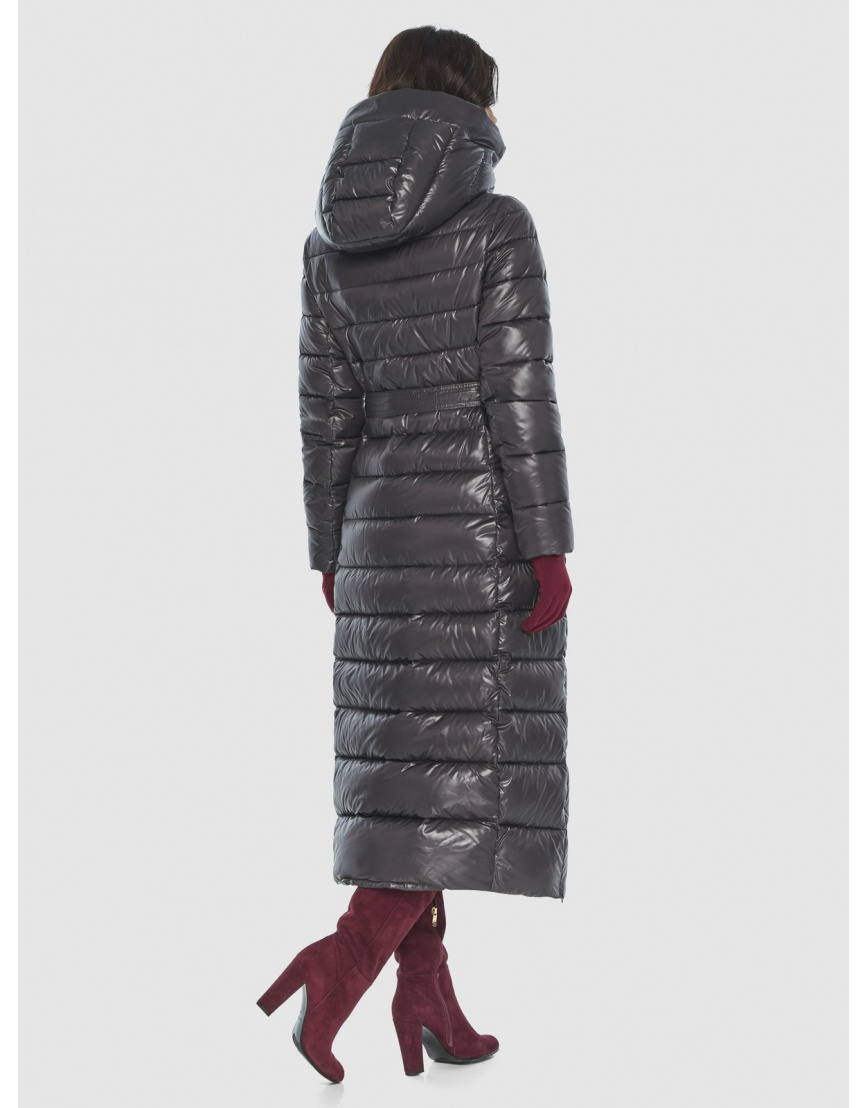 Куртка элегантная женская Vivacana серая 8320/21 фото 4