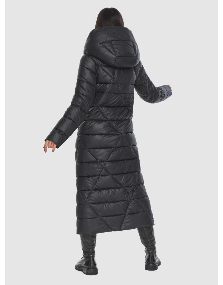 Люксовая куртка чёрная женская Moc M6715 фото 3