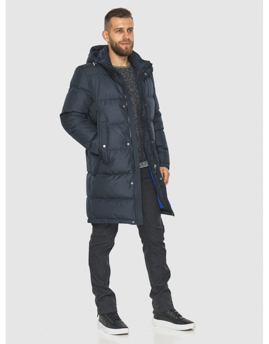 Модная куртка мужская Tiger Force тёмно-синяя 2873 фото 5