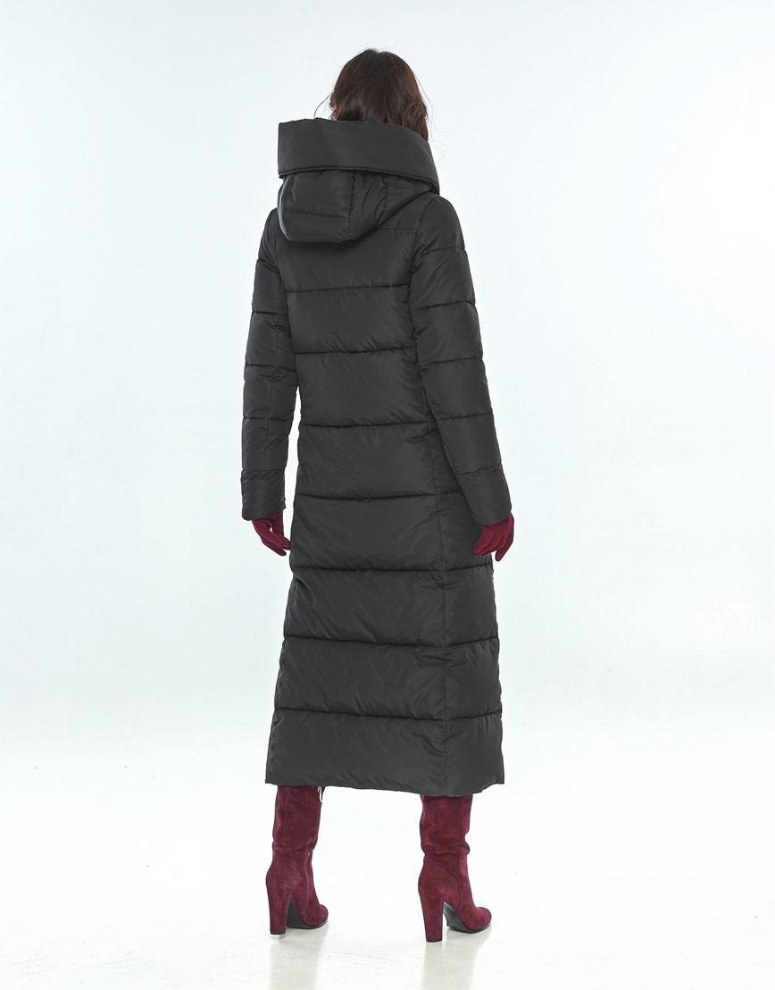 Чёрная практичная куртка большого размера женская Vivacana 8706/21 фото 3