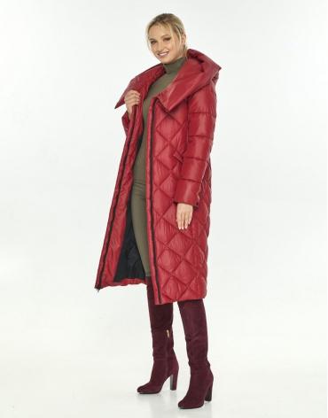 Зимняя красная удобная куртка Kiro Tokao женская 60074 фото 1