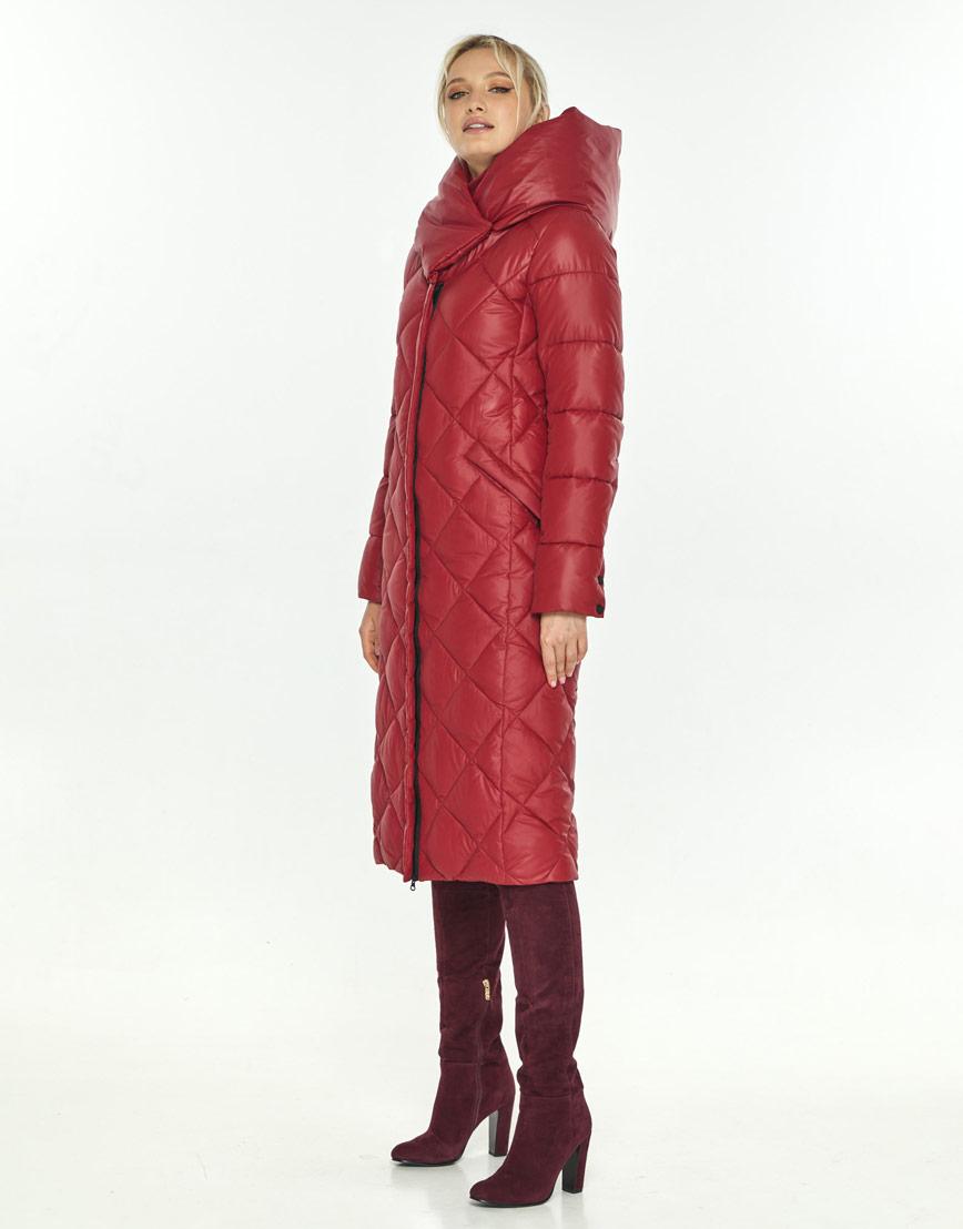 Зимняя красная удобная куртка Kiro Tokao женская 60074 фото 2