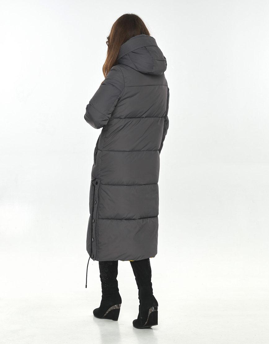 Серая куртка большого размера женская Ajento комфортная 23160 фото 3