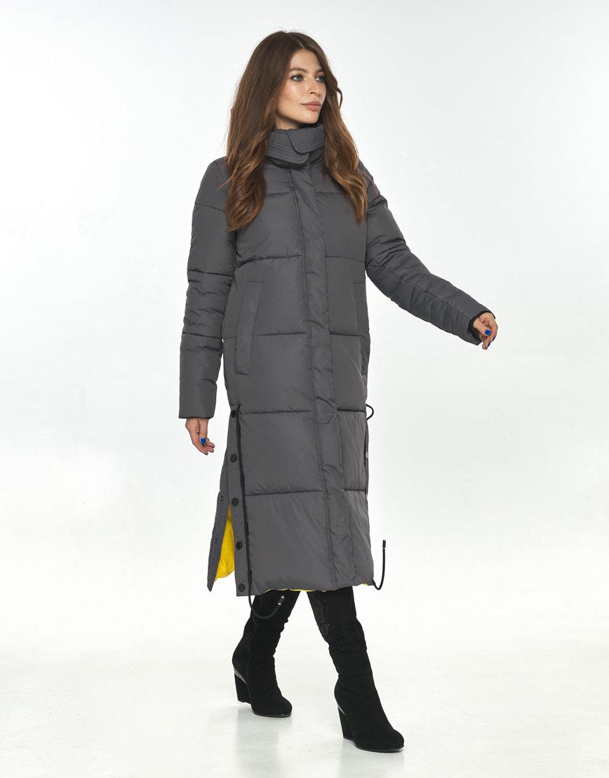 Серая куртка большого размера женская Ajento комфортная 23160 фото 1