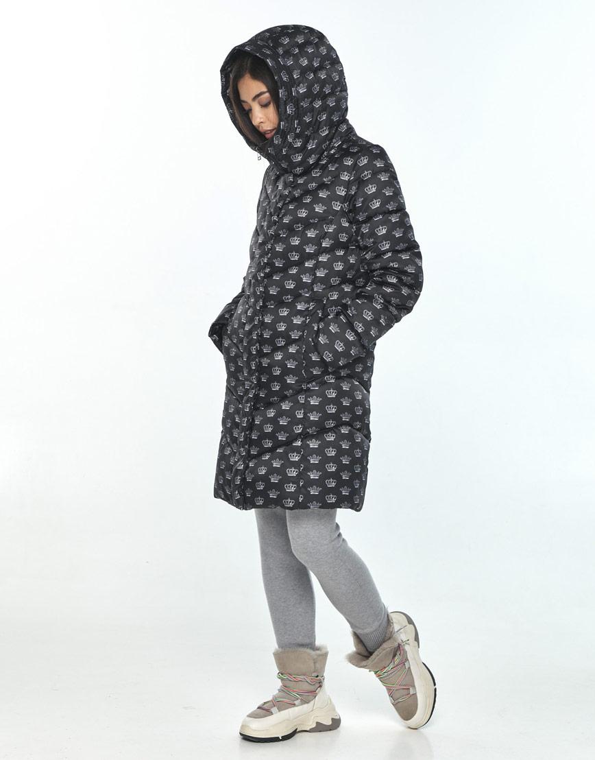 Куртка женская Moc с рисунком зимняя M6540 фото 2
