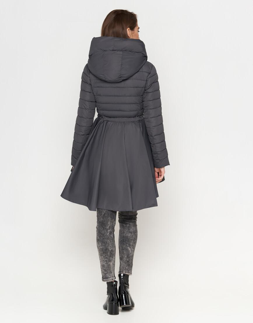 Серая женская куртка легкая модель 25755 фото 3