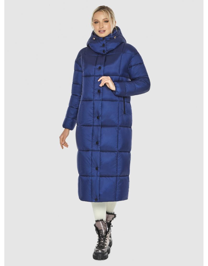 Синяя женская куртка Kiro Tokao 60052 фото 5