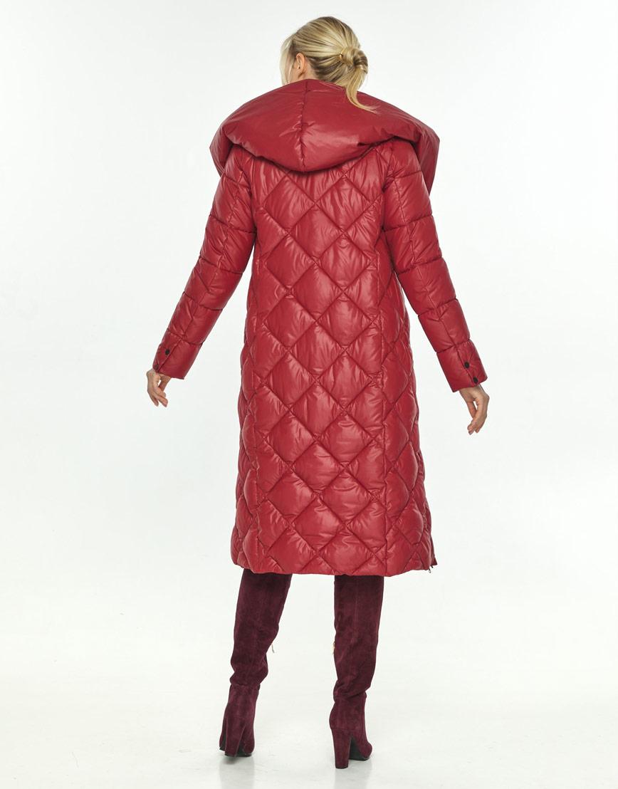 Зимняя красная удобная куртка Kiro Tokao женская 60074 фото 3