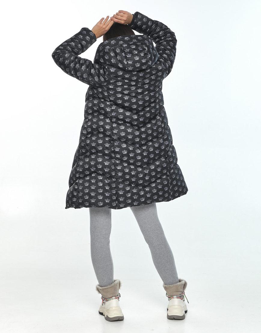 Куртка женская Moc с рисунком зимняя M6540 фото 3
