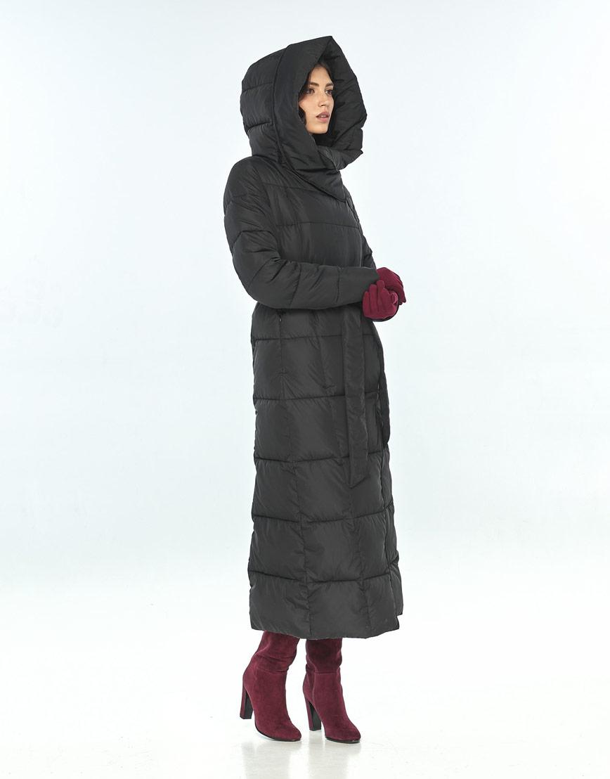 Чёрная практичная куртка большого размера женская Vivacana 8706/21 фото 1
