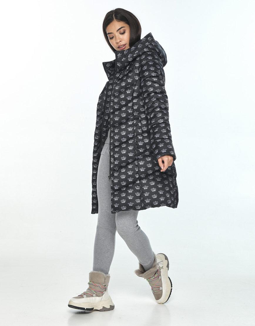 Куртка женская Moc с рисунком зимняя M6540 фото 1