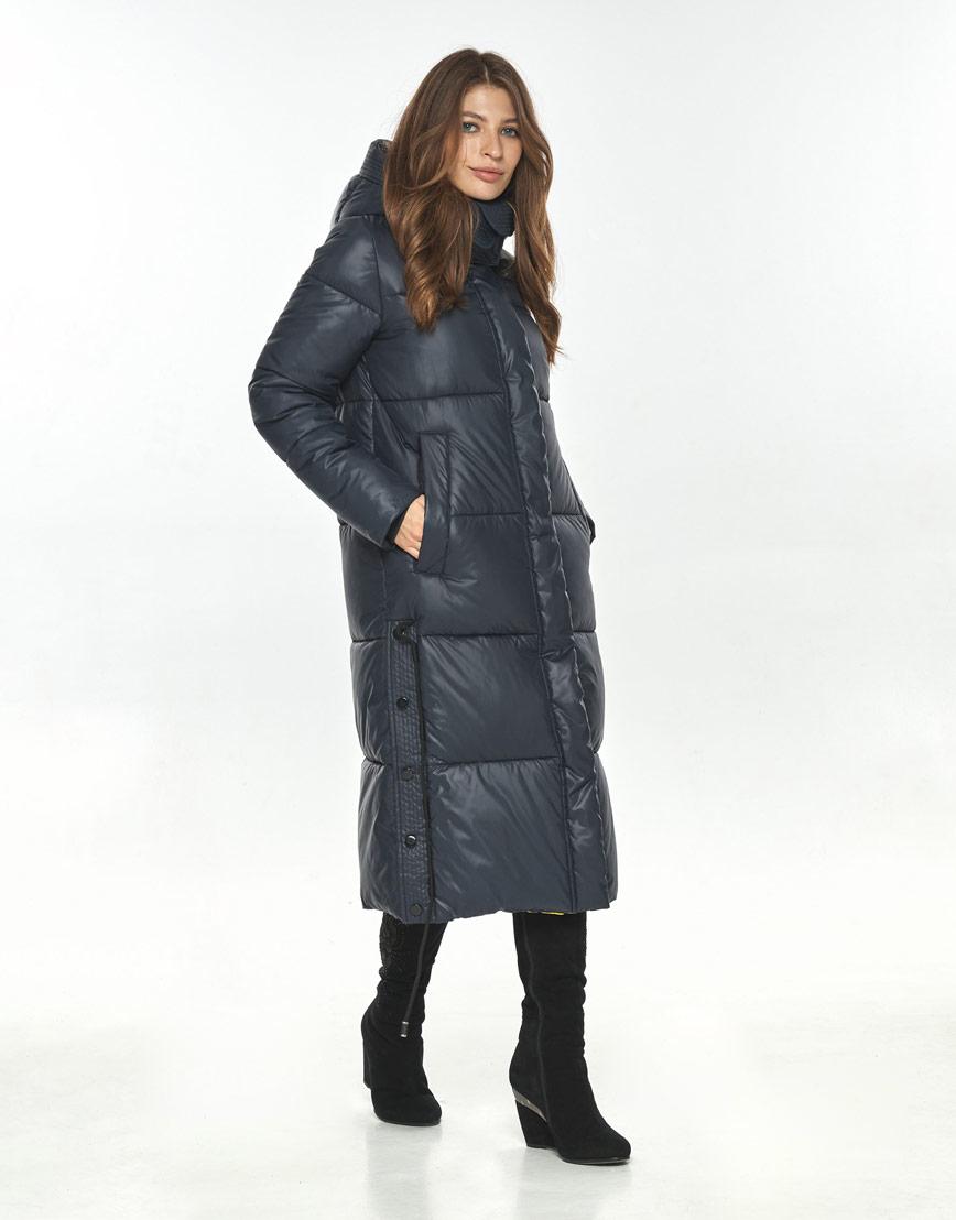 Синяя куртка большого размера практичная Ajento женская 23160 фото 1