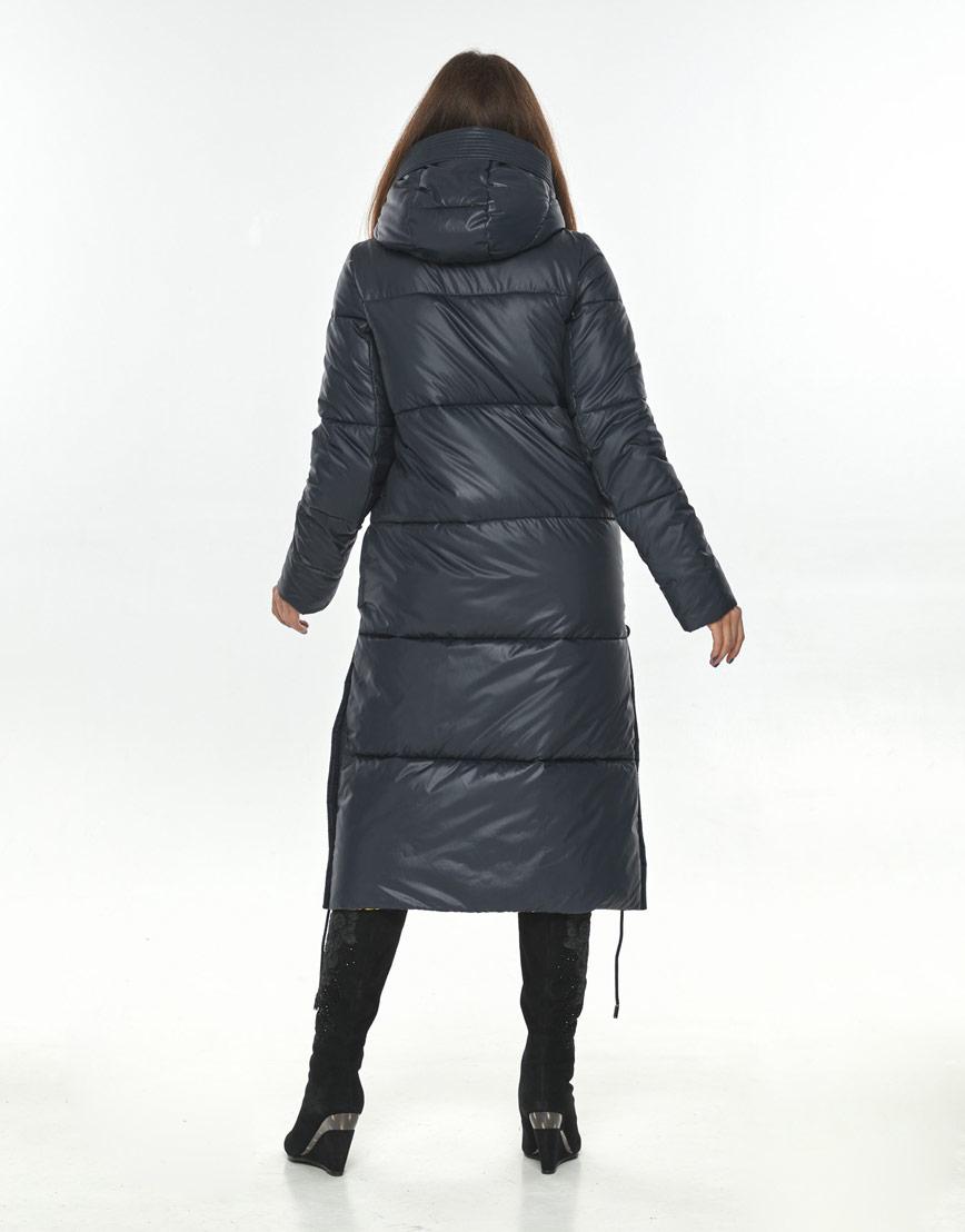 Синяя куртка большого размера практичная Ajento женская 23160 фото 3