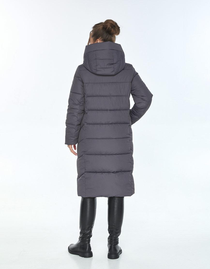 Трендовая куртка женская Ajento серая 22975 фото 3