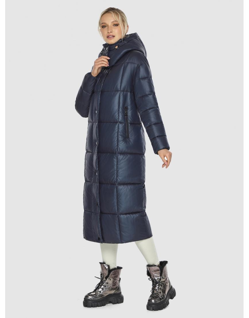 Куртка женская длинная Kiro Tokao синяя 60052 фото 1