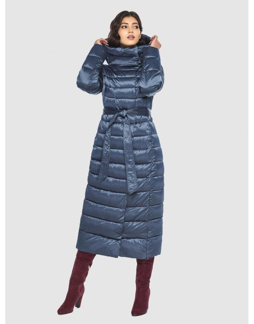Куртка синяя тёплая женская Vivacana 8320/21 фото 1