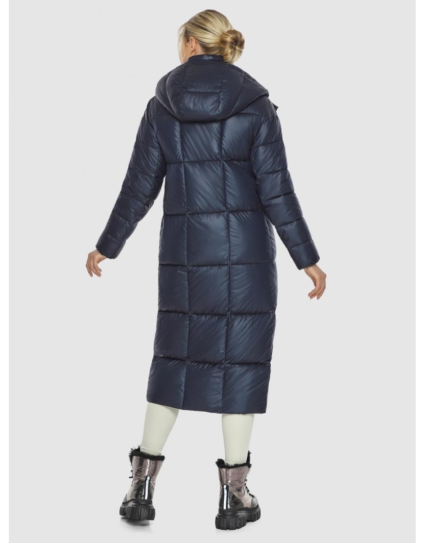 Куртка женская длинная Kiro Tokao синяя 60052 фото 4