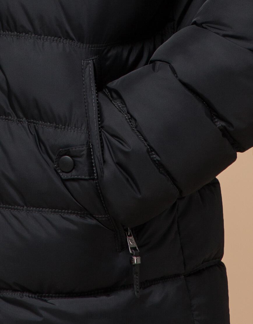 Графитовая куртка с прорезными карманами модель 24324 фото 5