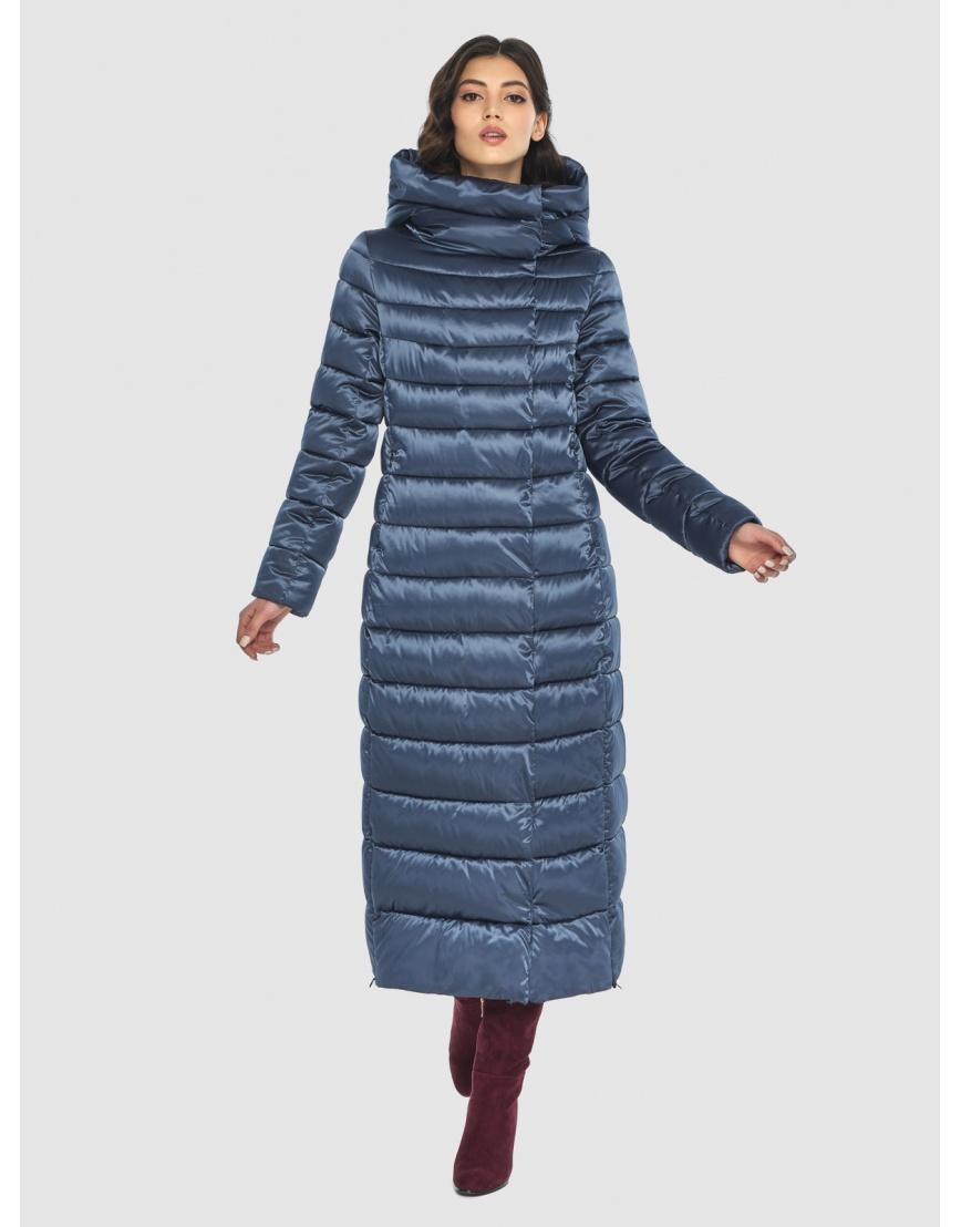 Куртка синяя тёплая женская Vivacana 8320/21 фото 2