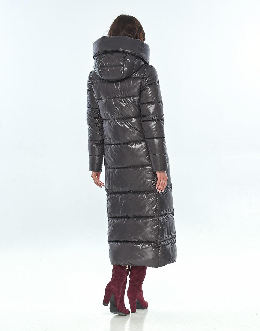 Серая женская удобная куртка большого размера Vivacana 8706/21 фото 3