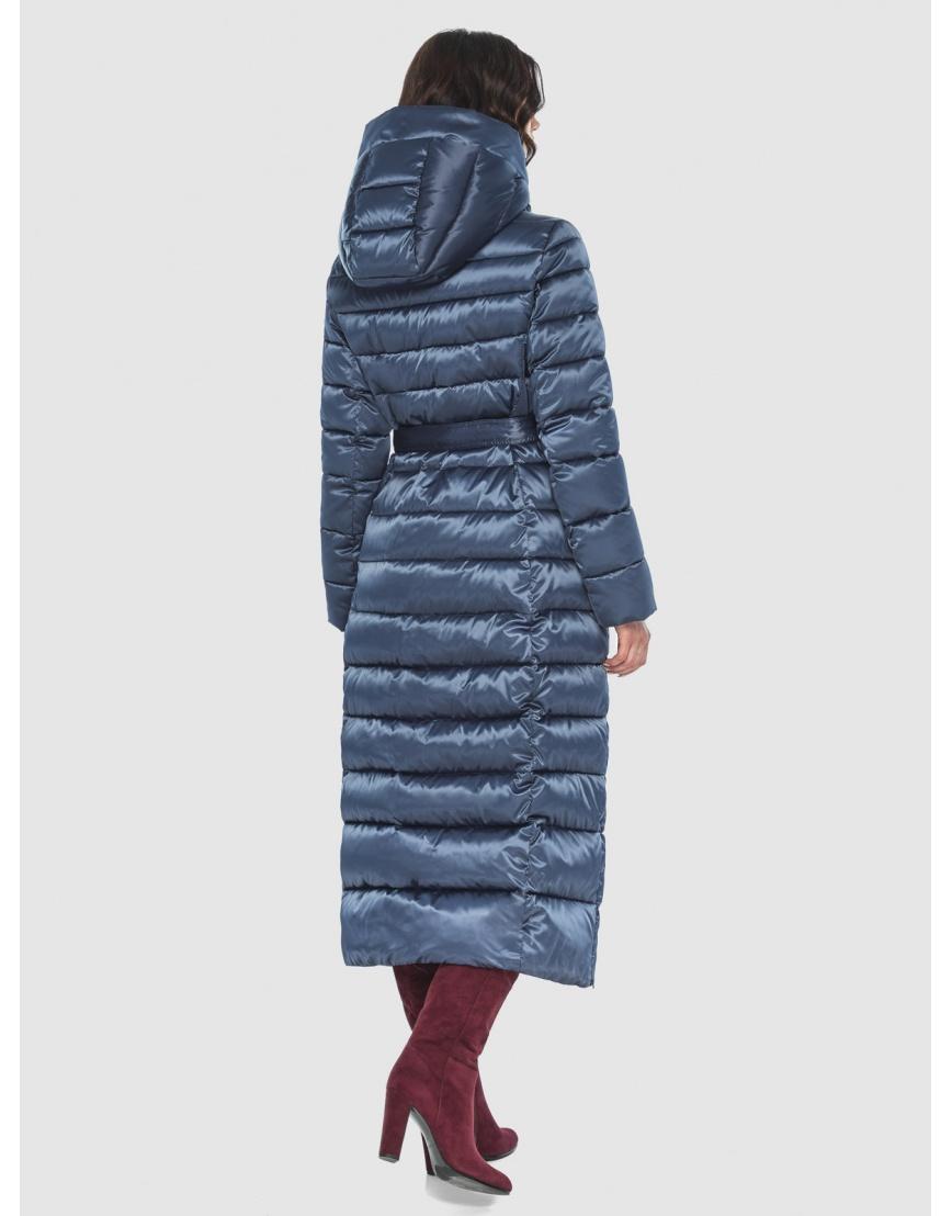 Куртка синяя тёплая женская Vivacana 8320/21 фото 4