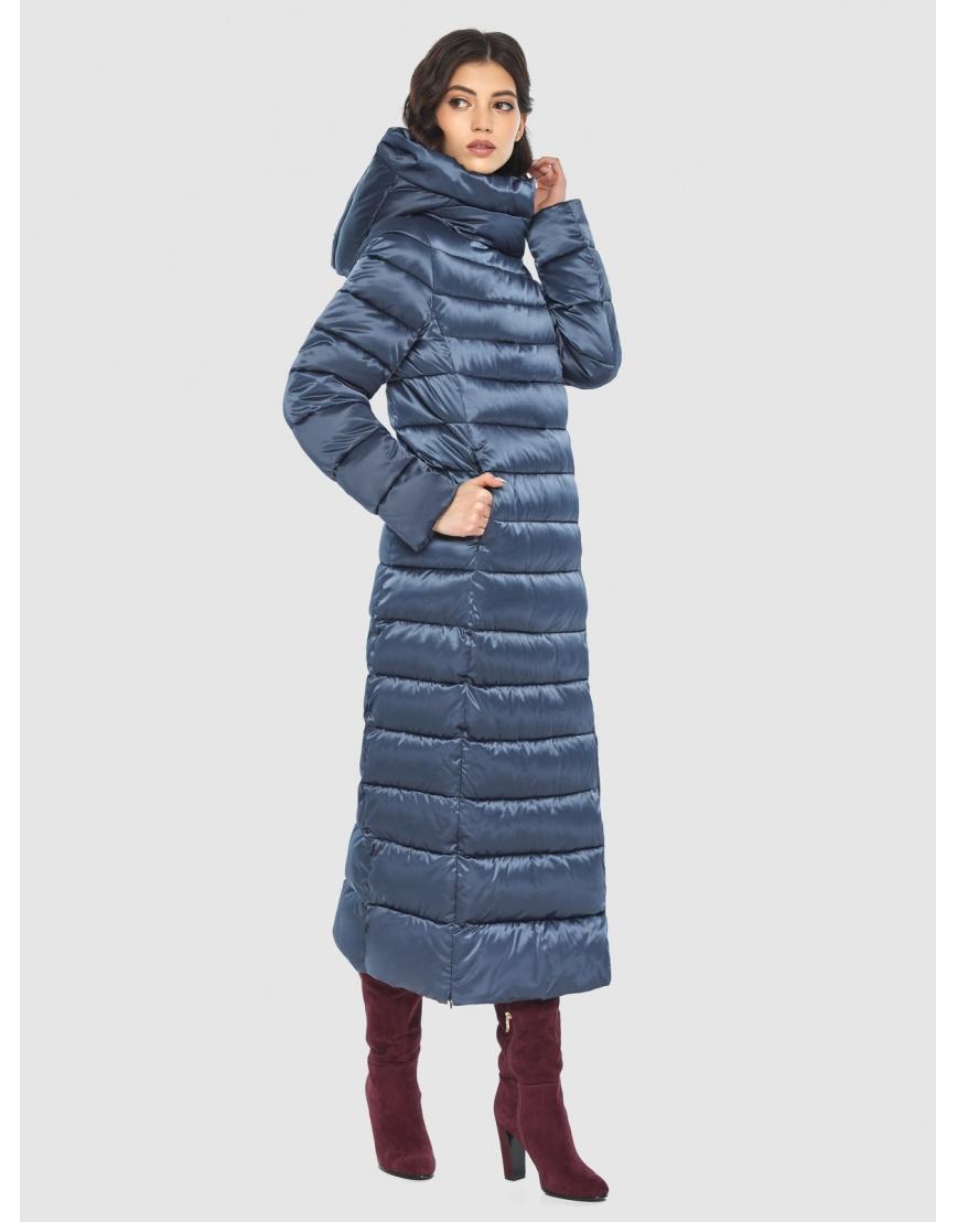 Куртка синяя тёплая женская Vivacana 8320/21 фото 3