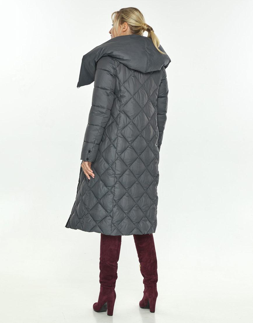 Брендовая серая куртка Kiro Tokao женская 60074 фото 3