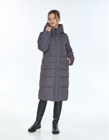 Трендовая куртка женская Ajento серая 22975 фото 1