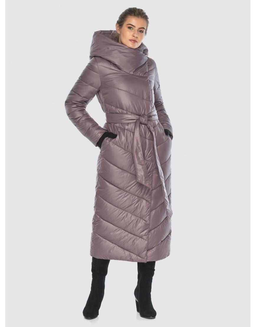 Стильная пудровая куртка Ajento женская 23046 фото 1