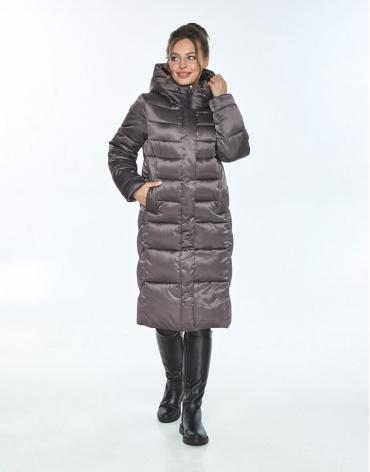 Куртка с ветрозащитной планкой женская Ajento капучиновая 22975 фото 1
