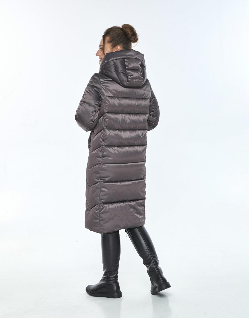 Куртка с ветрозащитной планкой женская Ajento капучиновая 22975 фото 3