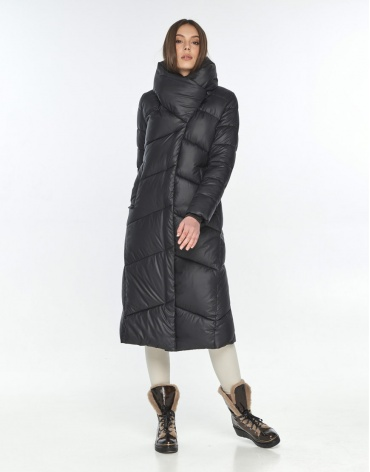 Зимняя куртка подростковая Wild Club чёрная 514-35 фото 1