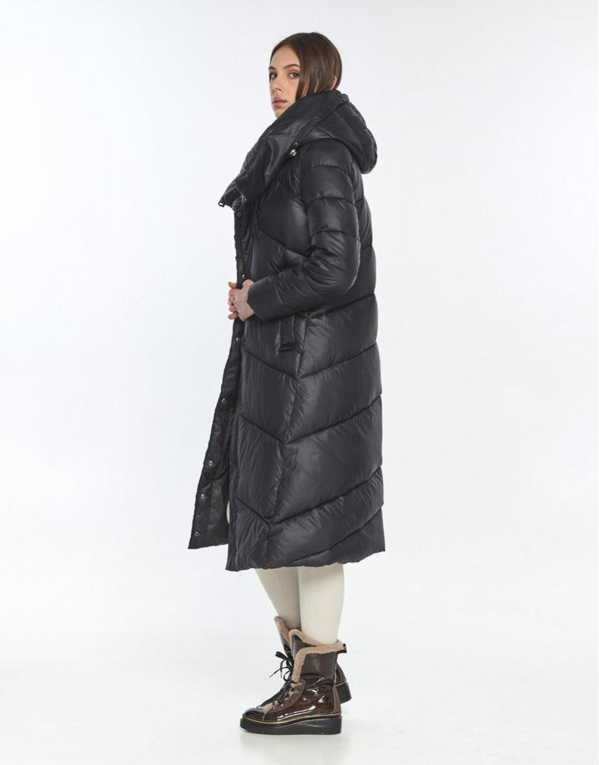 Зимняя куртка подростковая Wild Club чёрная 514-35 фото 3