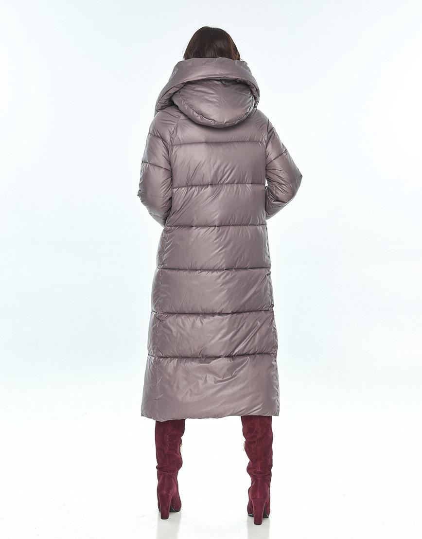 Практичная куртка большого размера пудровая женская Vivacana 9150/21 фото 3