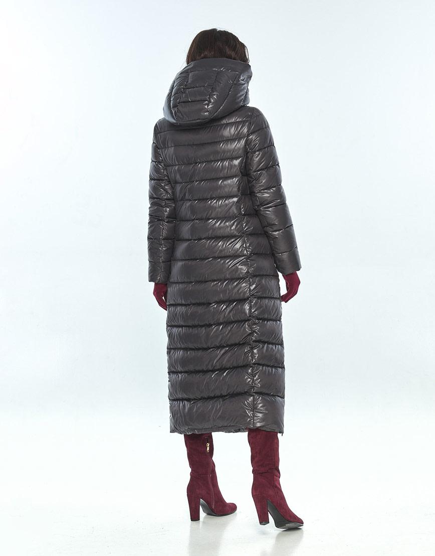 Куртка с манжетами женская Vivacana серая для зимы 8320/21 фото 3