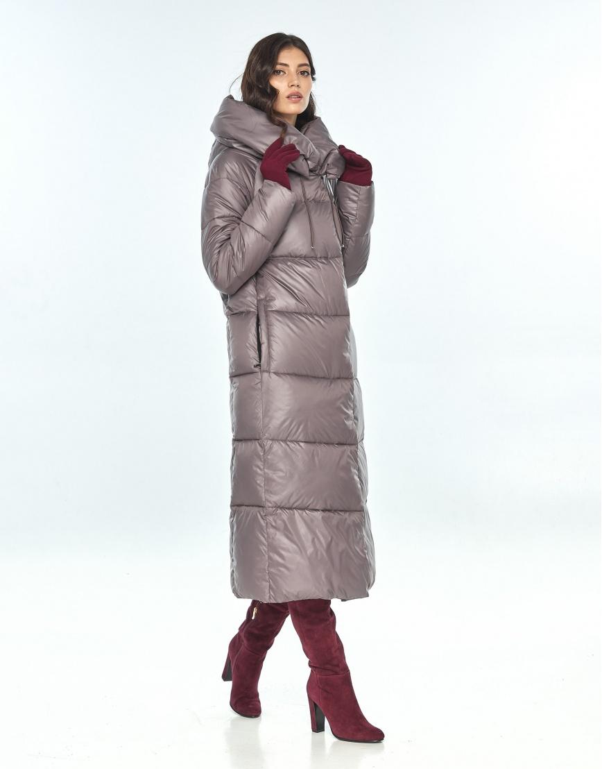 Практичная куртка большого размера пудровая женская Vivacana 9150/21 фото 2