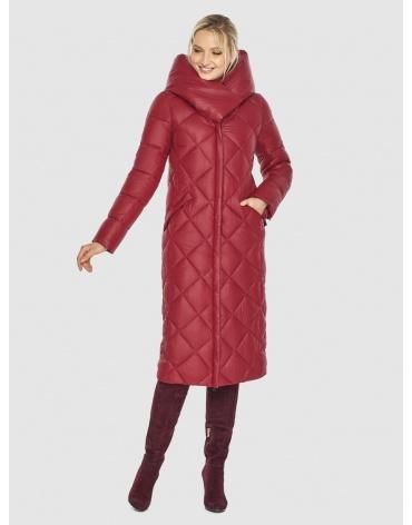 Красная куртка с карманами зимняя Kiro Tokao подростковая 60074 фото 1