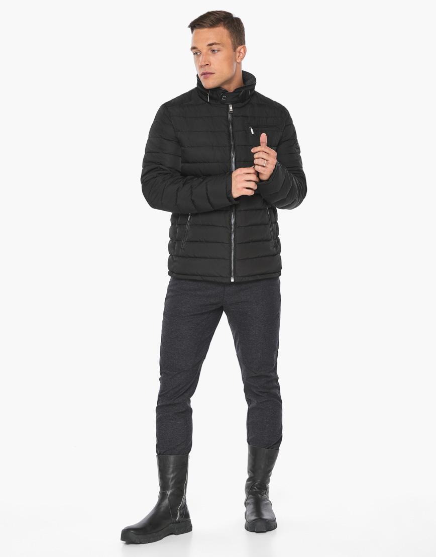 Черный воздуховик фирменный Braggart мужской зимний модель 52570 фото 3