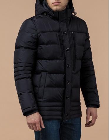 Куртка с прочной фурнитурой черная модель 31610 фото 1