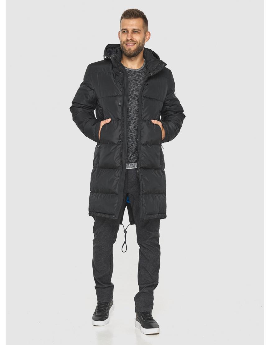 Зимняя куртка с манжетами мужская Tiger Force чёрная 2813 фото 5