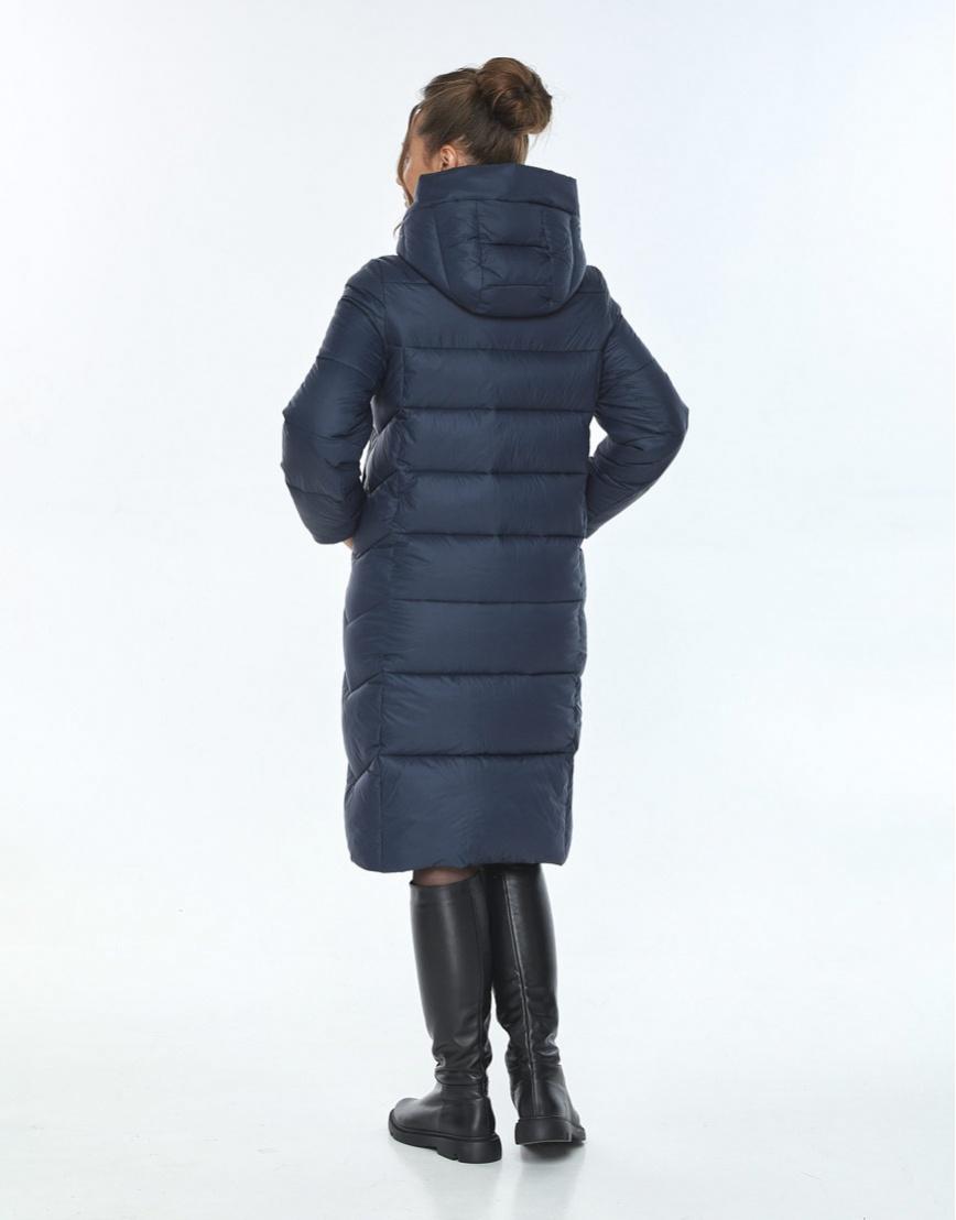 Комфортная куртка женская Ajento синего цвета 22975 фото 3