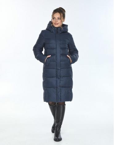 Комфортная куртка женская Ajento синего цвета 22975 фото 1
