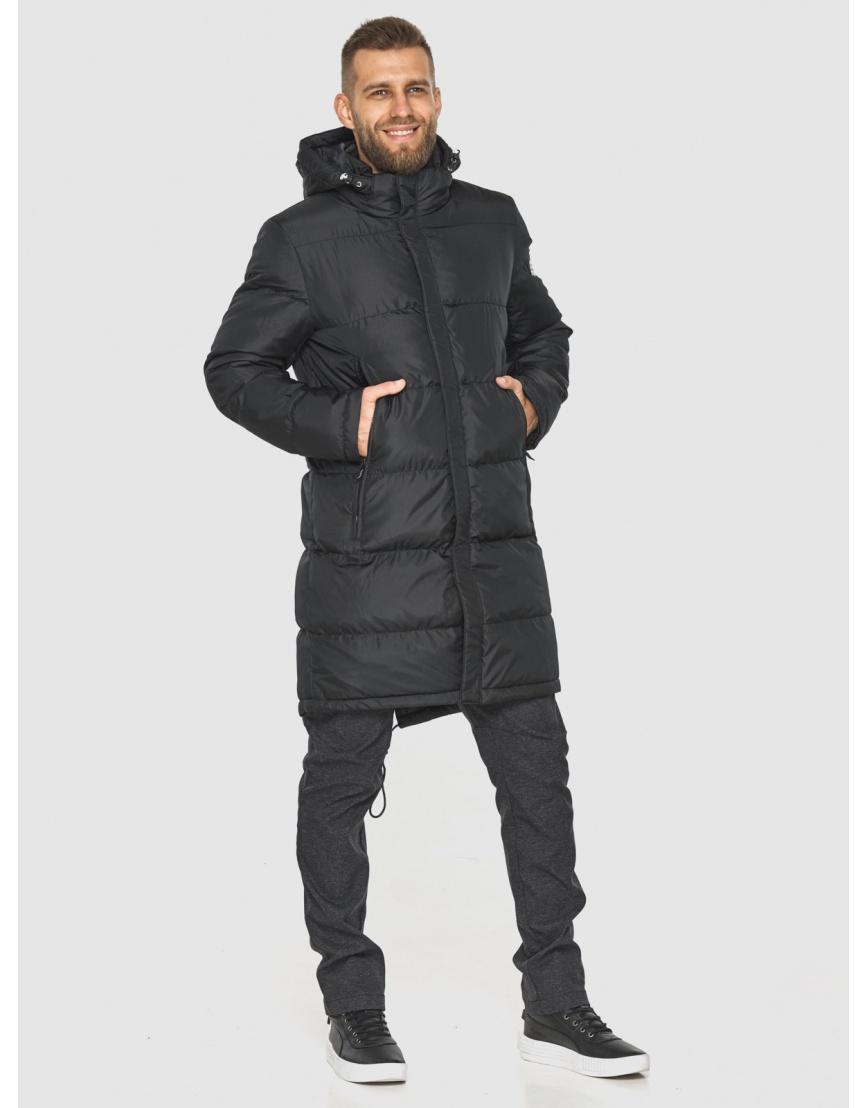 Зимняя куртка с манжетами мужская Tiger Force чёрная 2813 фото 4
