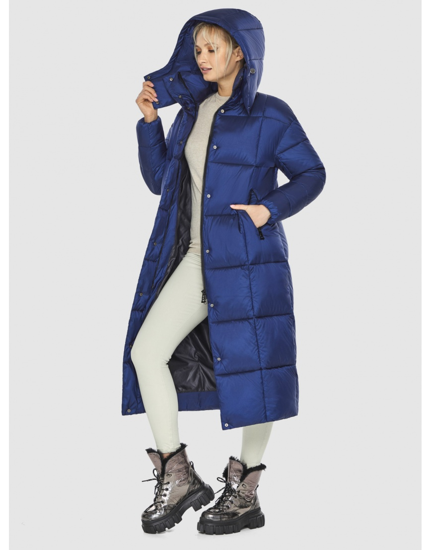 Синяя практичная куртка женская Kiro Tokao 60052 фото 5